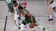 NBA suspende a Antetokounmpo por cabezazo a Wagner