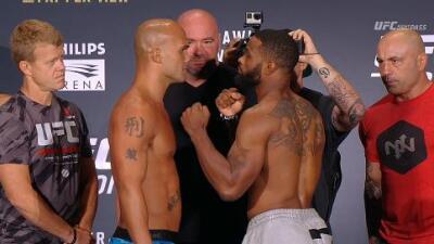 Robbie Lawler y Tyron Woodley en peso para UFC 201