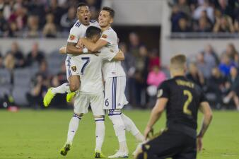 En fotos: Real Salt Lake sorprende en el Banc of California Stadium al LAFC y lo elimina