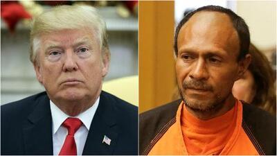 Trump califica de vergonzoso veredicto contra indocumentado acusado de matar a una joven en San Francisco