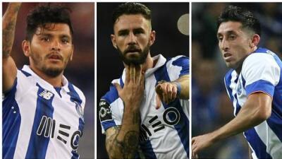 Los mexicanos, fundamentales en el clásico entre Benfica y Porto
