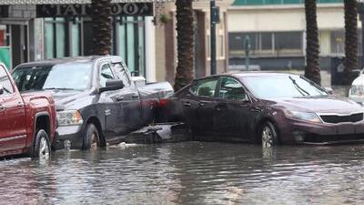 Los efectos de la tormenta Barry ya se sienten en Louisiana, donde se reportan severas inundaciones