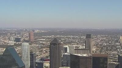 Cielos soleados y condiciones secas para la tarde de jueves en Dallas