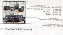 Hispana denuncia que pagó $ 1,790 hace cinco meses por unos muebles que aún sigue esperando