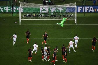 Paso a paso: manual de Inglaterra para un golazo de tiro libre en la semifinal del Mundial