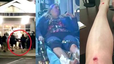Abogada es agredida por agente de ICE cuando acompañaba a un niño a reunirse con su madre