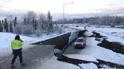 """Terremoto de 7.0 en Alaska deja """"grandes daños"""" en la ciudad de Anchorage"""