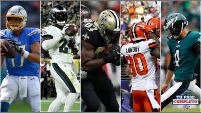 Fantasy: los que deben estar en la banca para la Semana 6 de la NFL