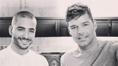 ¡OMG! Maluma y Ricky Martin revelaron a través de Instagram que están trabajando juntos