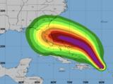 El huracán Dorian avanza con vientos sostenidos de 80 millas por hora