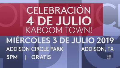 Eventos para disfrutar en grande el 4 de julio en Dallas/Fort Worth