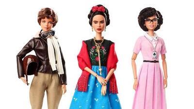 Así es la nueva Barbie con la figura de Frida Kahlo
