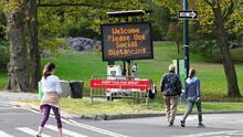 El Parque Central de Nueva York deja atrás los malos momentos de la pandemia y vuelve a la vida