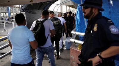 Corte Suprema da luz verde al gobierno de Trump para negarle asilo a migrantes en la frontera sur