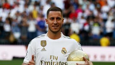 """Hazard por fin llega a su Edén: """"Era mi sueño desde pequeño jugar para el Real Madrid""""."""
