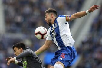 En fotos: Porto tuvo una felicidad a medias con triunfo contra Sporting en Portugal