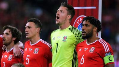 La alineación de Gales para enfrentar a México