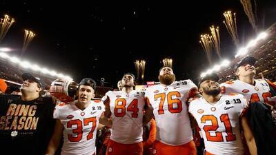 Los Clemson Tigers destronan con paliza a Alabama y son los campeones nacionales