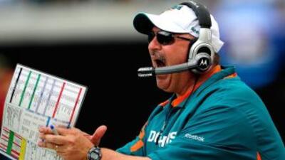 Miami Dolphins despiden a Tony Sparano tras otra derrota