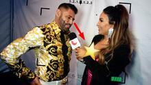(Video) El momento exacto en el que La Bronca dejó ver una 'boobie' en entrevista con Pancho Barraza