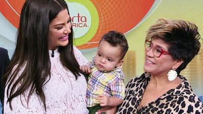 """""""Ella brilla donde quiera que esté"""": la suegra de Ana Patricia no podía faltar para desearle suerte"""