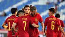 España golea a Lituania rumbo a la Euro 2021