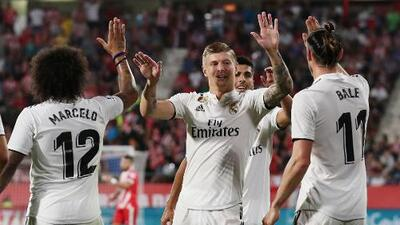 ¿No se quieren quedar?: Pillan a Kroos y Bale riéndose mientras el Madrid perdía ante el Betis