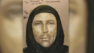 Publican boceto del hombre que asesinó a una niña de 7 años en Texas