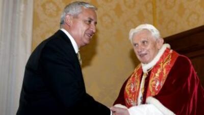 El papa Benedicto XVI se despide de América Latina