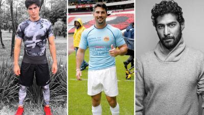 Los actores que querían ser futbolistas
