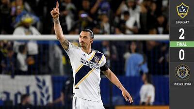 El león sueco rugió y LA Galaxy se llevó el duelo de mexicanos en MLS