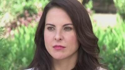 Kate del Castillo dice que alguien la quiere ver muerta tras rumor sobre su fallecimiento