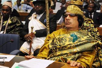 La gran riqueza de Muamar Gadafi