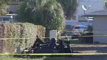 Investigan el hallazgo de un cadáver calcinado en un contenedor de basura en Miami-Dade