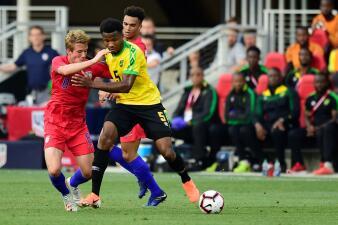 En fotos: Estados Unidos se esmera por jugar mal y pierde ante Jamaica en amistoso