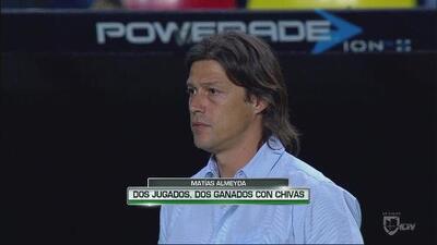 Matías Almeyda, dos partidos jugados, dos partidos ganados con Chivas