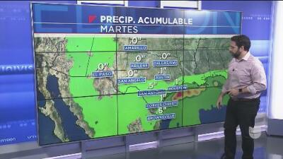 El huracán Willa podría traer lluvias al centro de Texas