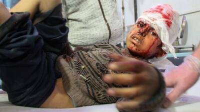 """""""Un baño de sangre"""": cerca de 200 civiles mueren en Siria por los bombardeos del régimen en una zona de oposición"""