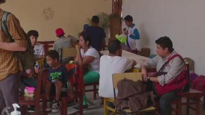 Este es el refugio donde los migrantes centroamericanos reciben asesoría en Puebla