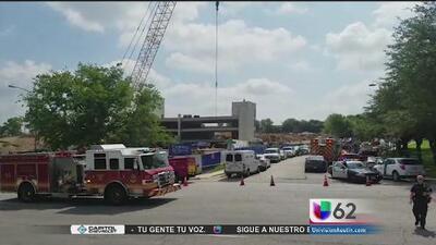 Identifican al hombre que murió por una plancha de concreto al sureste de Austin