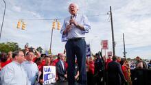 Bernie Sanders retomará su actividad política pero bajará el ritmo de su campaña tras el infarto