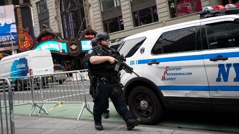 Intensifican las medidas de seguridad en varios puntos de Nueva York tras los ataques terroristas en Londres