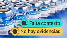 ¿Se pueden mezclar vacunas contra el covid-19 como dijo el subsecretario de salud de México?