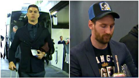 ¡Están en casa! La llegada de Cristiano al Juventus Stadium y de Messi al Camp Nou