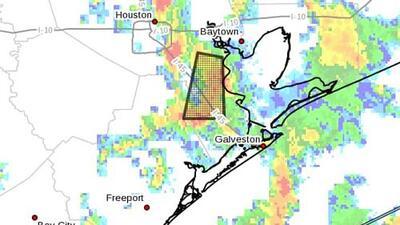 Emiten aviso de inundación repentina para varias zonas al sureste de Houston