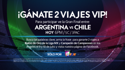 """Gana un viaje """"VIP"""" al Balón de Oro y Campeón de Campeones de la Liga MX"""