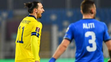 """Ibrahimovic: """"No necesito marcar goles, ya hice los míos"""""""
