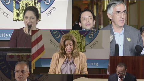 Los candidatos hispanos que aspirarían a reemplazar a Rahm Emanuel en la alcaldía de Chicago