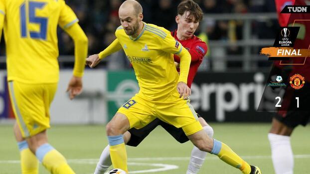 En tempranero juego, Manchester United cayó ante el Astana