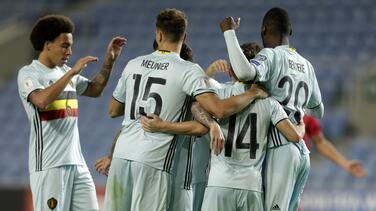 Bélgica y Portugal golean en las eliminatorias mundialistas